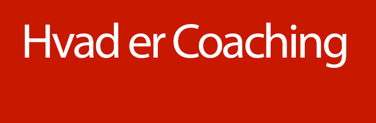 HvadErCoaching