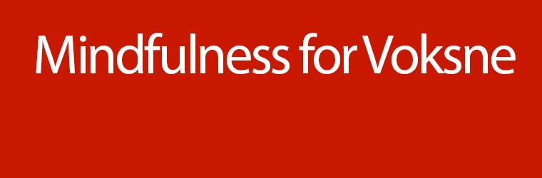 MindfulnessForVoksne